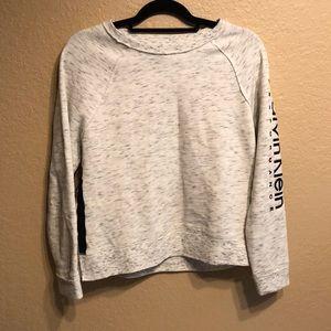 Calvin Klein Performance Cropped Crewneck Sweater